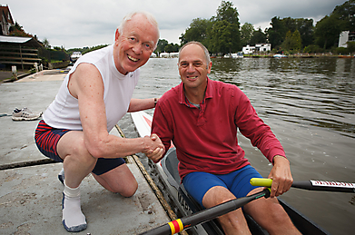Tony Buzan and Sir Steve Redgrave